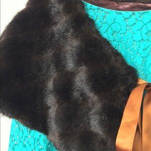 Faux MInk Fur Wrap